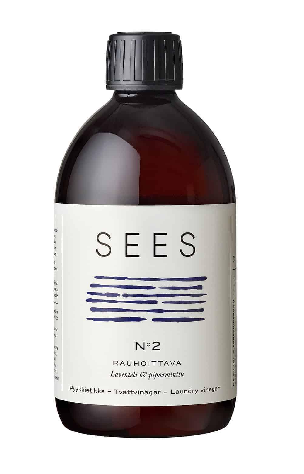 Pyykkietikka laventeli & piparminttu biohajoava Sees company