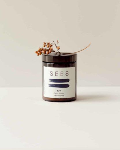 soijavahakynttilä luonnollinen ja kotimainen kynttilä sitruuna bergamotti