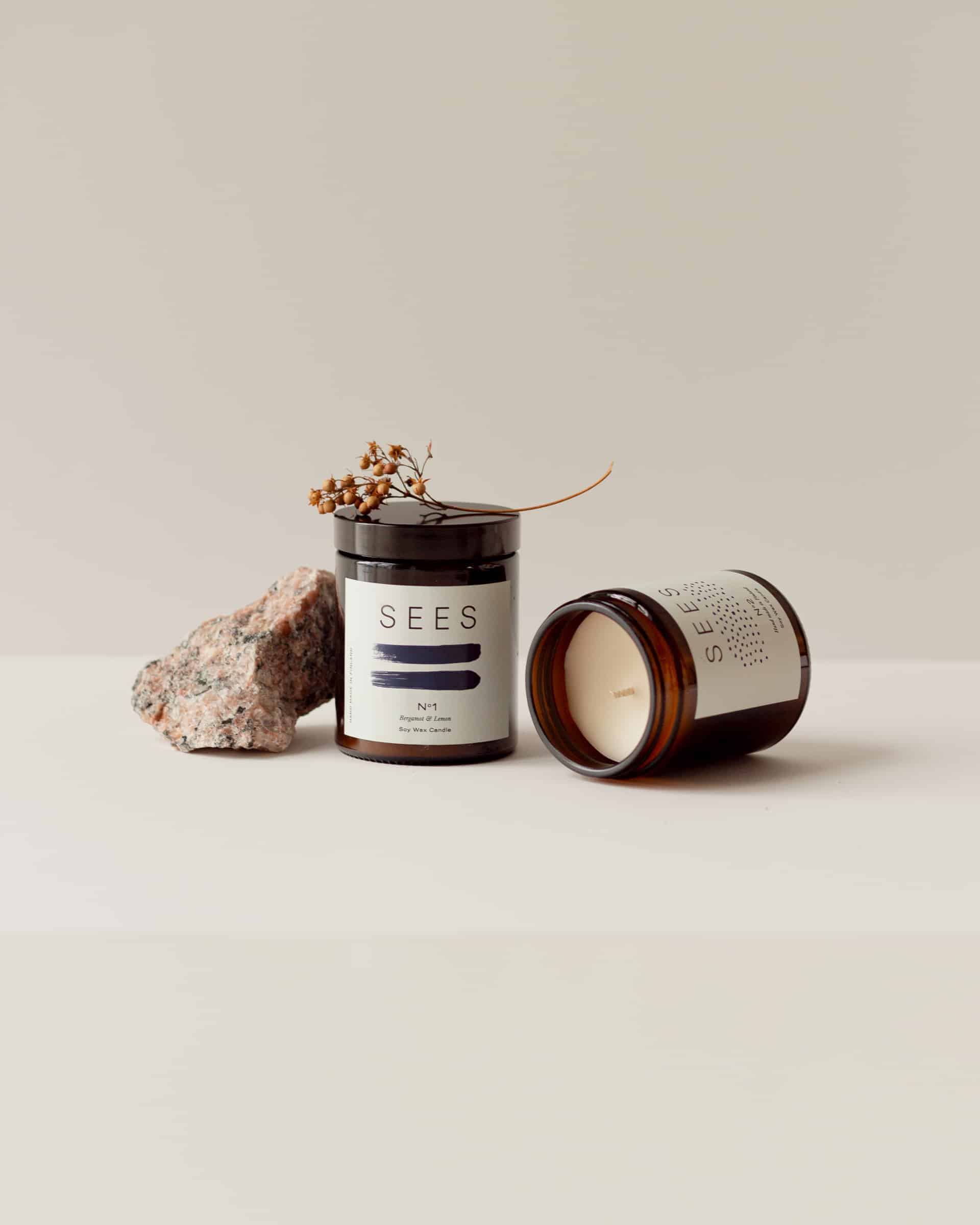 tuoksuton ja bergamotti ja sitruuna eteerinen öjy tuoksukynttilä kotimainen kynttilä soijavahasta